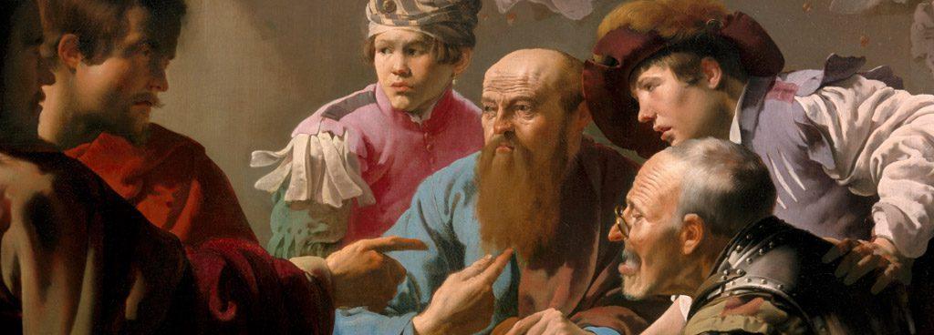 ヘンドリック・テル・ブルッヘン作「聖マタイの召喚」